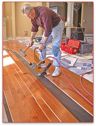 Canada West Wood Flooring Solutions Install Prefinished